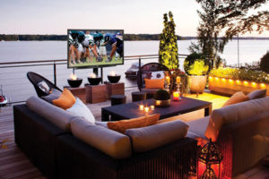sunbrite TV outdoor patio outdoor television westchester tri state