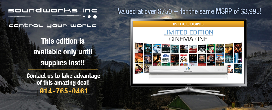 soundworks Limited Edition Home Movie Server - available only until February 28th