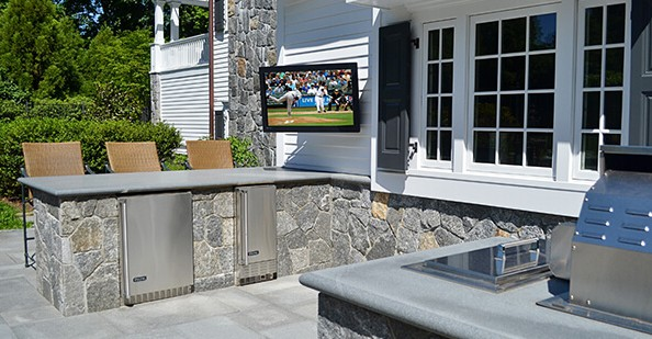 Patio Outdoor Television Westchester New York Luxury Gifts