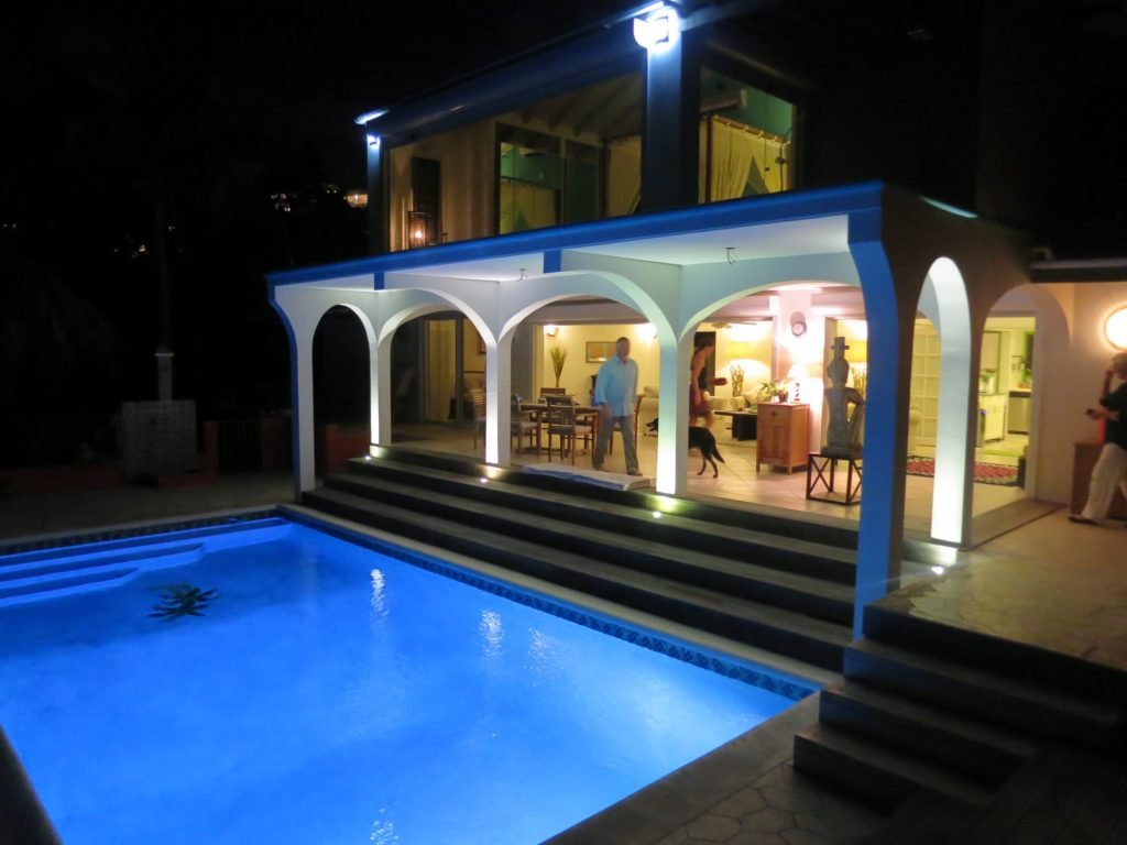 Pool, Fountain and Hot Tub Lighting Design