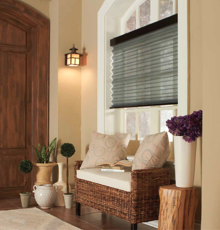 Lutron Accordian Shades Fully Automated