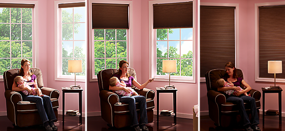 Lutron Nursery Automated Shades for Smart Home Owners