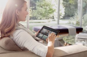 Soundworks Home Automation Savant Smart Home Interior iPad shot