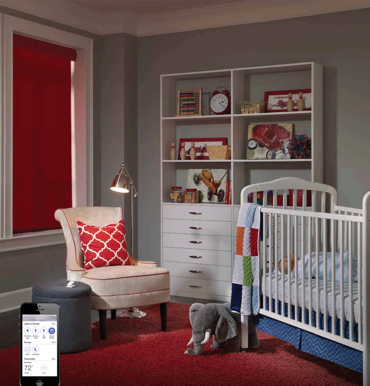 Soundworks Automated Roller Shades Nursery