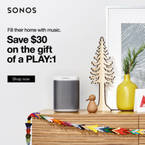 Sonos PLAY-1 Speakers